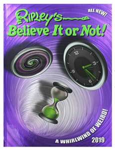 Ripley's Believe It Or Not 2019 hardback book rrp £20 now £1 in Poundland