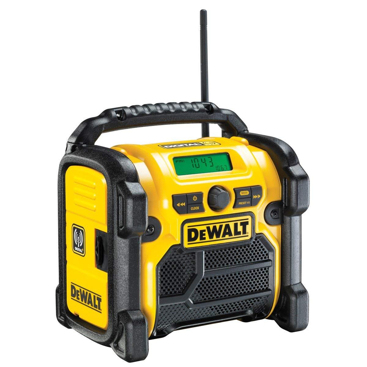 DeWalt DCR020-GB Compact Jobsite DAB Radio now £79.99 delivered at Amazon