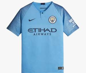 Nike Youth 2018/19 stadium football shirts home/ away Man C, Chelsea were £51.95 now £10 in store Nike Outlet Leeds