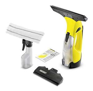 Kärcher Window Vac WV5 Premium incl. Accessories, cleaner for Windows, Tiles, Shower & Cabinets + Exchangeable Battery - £44.99 @ Amazon
