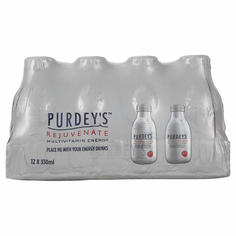 Purdey's Rejuvenate Multivitamin Energy Drink, 330ml (Pack of 12) - £9.75 @ Amazon Prime / £14.24 Non Prime