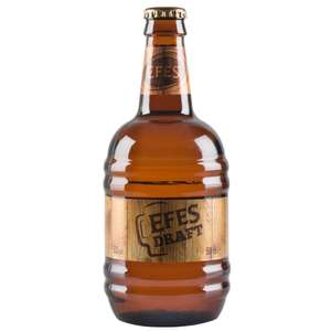 Efes Draft Beer 500ml only £1.29 at Home Bargains