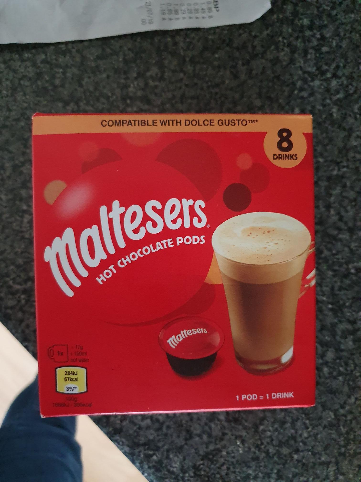 Half Price - Dolce Gusto Hot Chocolate - £1.49 at Aldi instore
