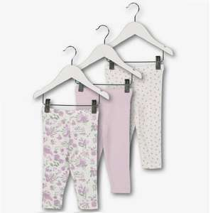 X3 Girls Leggings Age Upto 3 Months Or 9-12 Months, Now £3.50 @ Argos ( Free C&C )