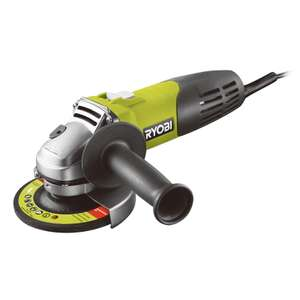 RYOBI Compact 600W 115mm Angle Grinder - £12.95 - Was £37.95 at Homebase instore