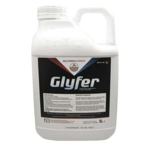 Glyfer Weed Killer - Roundup Style V.Strong Professional Glyphosate - 5L (Makes 200+ Litres) - £28.99 @ eBay / soilfertilitysolutions