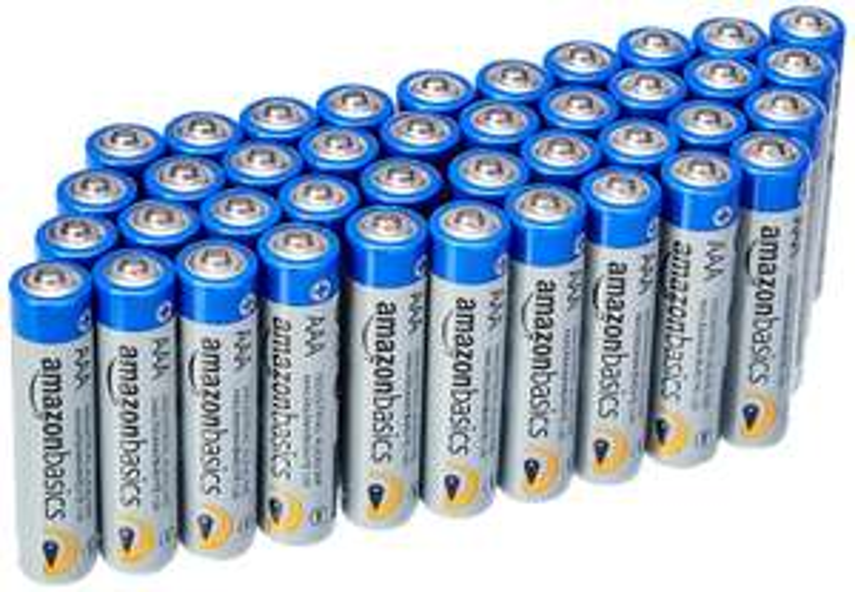 AmazonBasics AAA Industrial Alkaline Batteries (Pack of 40) (19p each) @ Amazon - £7.99 Prime / £12.48 non-Prime