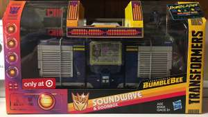 Transformers Bumblebee Greatest Hits Soundwave & Doombox - £22 instore @ Sainsburys (Leigh)