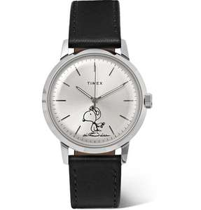 Timex Marlin Snoopy edition automatic watch in stock at Mr. Porter - £225