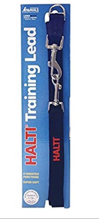 "Halti Training Lead (6' 6""), Large, Black @ Amazon - £7.99 Prime / £12.48 non-Prime"