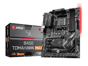 MSI B450 TOMAHAWK MAX VERSION [Fixed for Ryzen 3000] at CCL for £98.99
