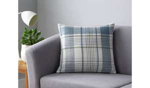Argos Home Check Cushion Now £3.60 ( more see post ) @ Argos ( ree C&C )