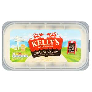Kelly's IceCream (Clotted Cream / Honeycomb Crunch / Cornwall Cherry Bakewell) 950ml now £2 @ Morrisons