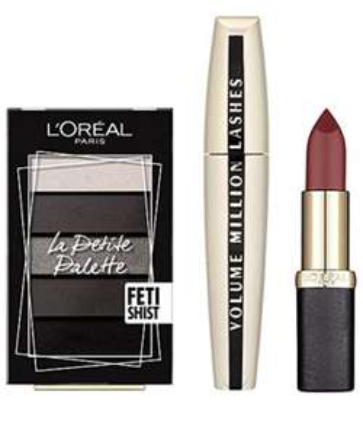 L'Oreal Paris Glam Me Up Party  Makeup Trio for £11.95 (Prime) / £16.44 (non Prime) Amazon