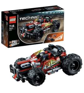LEGO 42073 Technic Bash! Racing Car with Motor £12 (Prime) / £16.49 (non Prime) at Amazon