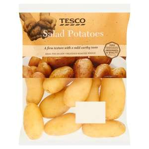 (Tesco Fresh 5 Offers / From 23rd July ) Tesco Salad Potatoes 1Kg £0.45 / Peach 4 Pack £0.45 / Plum 400g  £0.45 / Nectarines 4 Pack £0.59