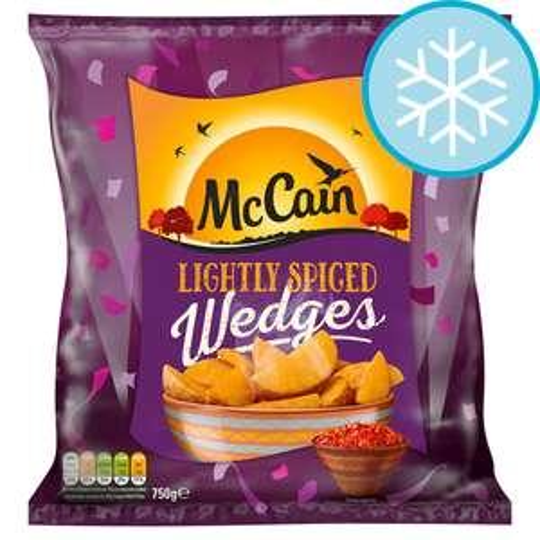 (From 23rd July) Mccain Lightly Spiced Wedges 750G /  Birds Eye 10 Fish Fingers Omega3 280G £1 @ Tesco