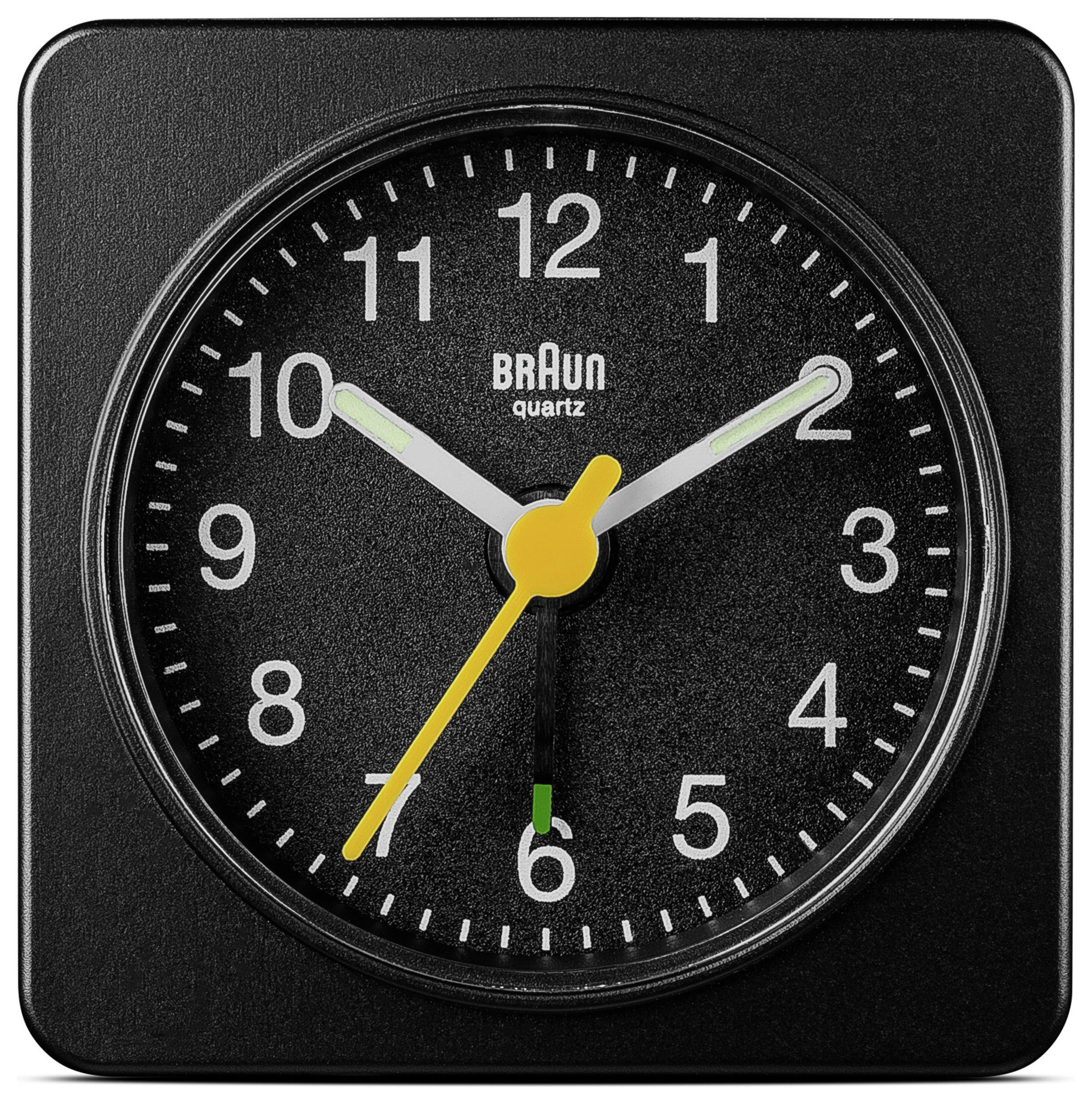 Braun Travel Alarm Clock - Black/White, £4.80 @ Argos - free c&c