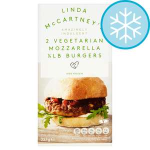 (From 23rd July) Linda Mccartney 2 Mozzarella Burgers 227G £1 / Magnum Double (All varieties)  £1.94 @ Tesco