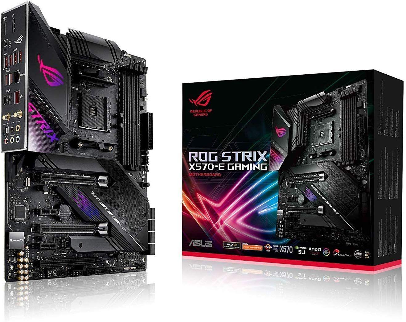 ASUS AMD ROG STRIX X570-E MOTHERBOARD £304.99 @ Amazon