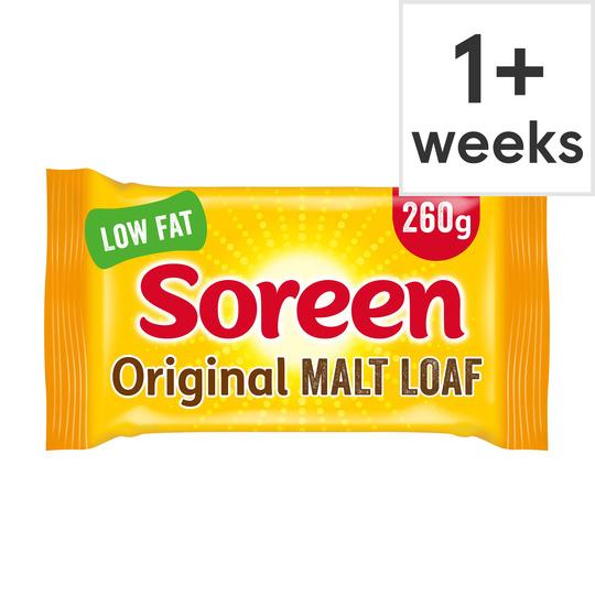 (Big Packs) Soreen Fruity Malt Loaf 260G / Soreen Banana Loaf 260g £0.60 @ Tesco (From 23rd July)