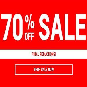 Sale 70% off Oxfam Online