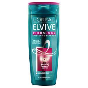 up to 50% discount on L'ORÉAL products @ Wilko - 400ml shampoo from £2.25
