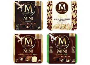 Magnum Mini (x6) or Magnum Double (x3) for £1.94 @ Tesco (from 23/07 - more in OP)