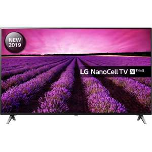 """LG 55SM8500PLA 55"""" Smart 4K Ultra HD TV with Nano Cell, HDR10, Dolby Vision and Dolby Atmos £799 w/ Free Google Home Mini using code @ AO"""