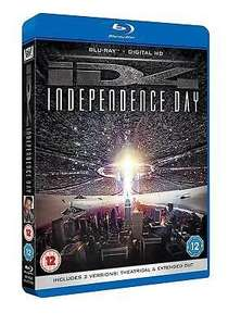 [Blu-Ray] Independence Day: Theatrical And Extended Cut (2 disc) £4.99 delivered @ The Entertainment Store/ebay