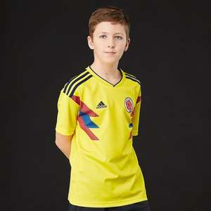 adidas Junior Boys FCF Colombia Away & Home Shirts - £9.98 each delivered @ MandM Direct