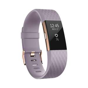 Fitbit Charge 2 Special Edition Activity Tracker with Wrist Based Heart Rate Monitor -  Lavender Rose Gold - Large £59.99 @ Amazon