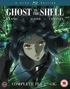 Ghost in the Shell: Stand Alone Complex Complete Series Collection Blu Ray £22.99 @ Amazon