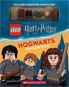LEGO Harry Potter handbook with Hermione minifigure £7.16 each or 2 for £7 (free delivery even for non-Prime) @ Amazon