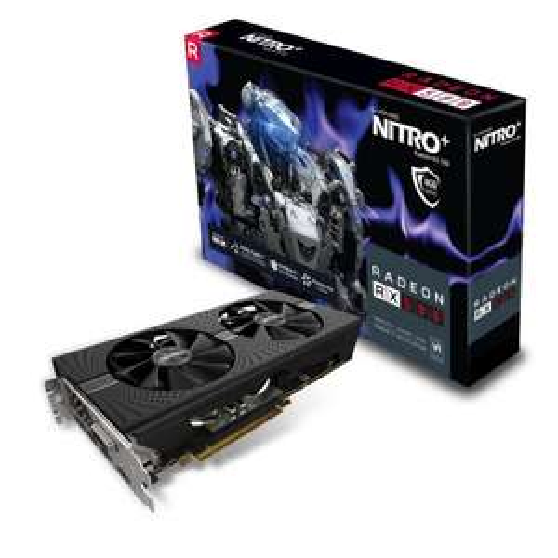 Sapphire Radeon RX 580 NITRO+ 8GB GPU £169.98 at CCL Online (Free Game Pass)