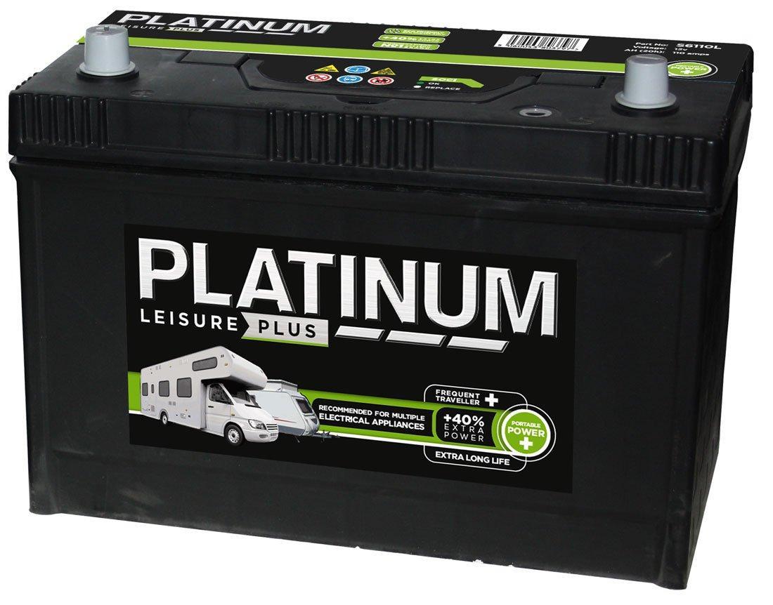 Leisure Plus Battery S6110L (110Ah) - £70 @ Go Outdoors