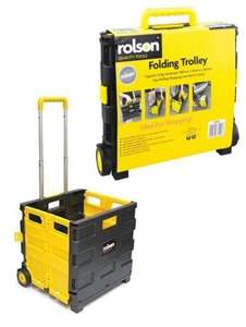 Rolson 25kg Folding Boot Cart - £8.50 with code @ Halfords (Free C&C)