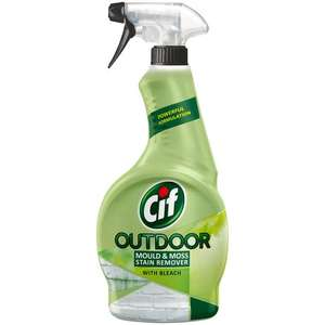 Cif Outdoor Mould & Moss Stain Remover now 75p @ Asda Clydebank