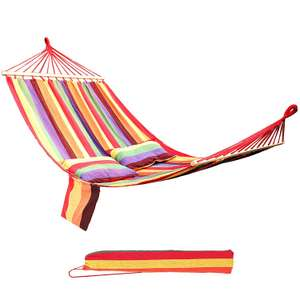 2 Person Portable Hammock (3 colours) - £14 delivered with voucher Sold by Songmics and Fulfilled by Amazon