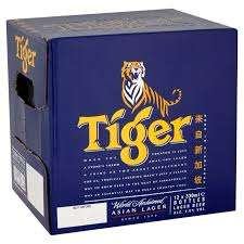 Tiger beer 12 x 330ml included in 3 for £21 deal @ Asda