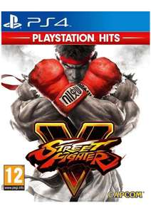 Street Fighter V HITS Range on PS4 - £9.99 @ Simply Games