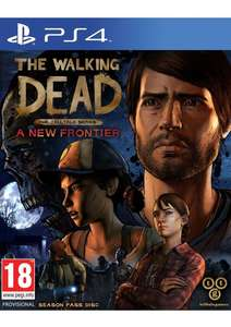 The Walking Dead - Telltale Series: The New Frontier on PlayStation 4 for £6.99 Delivered @ Simplygames