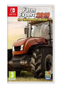Farm Expert 2019 on Nintendo Switch £14.99 @ Simply Games