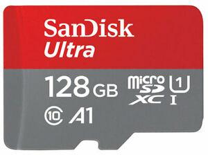 SanDisk 128GB Micro SD SDXC Ultra Memory Card 100MB/s (Class 10) n SD Adaptor £15.49 @ expressonline24 eBay