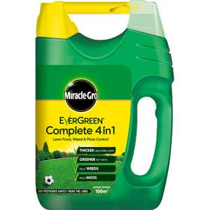 Miracle Gro Evergreen Complete 4 in 1 100m - £3 at Tesco New Malden