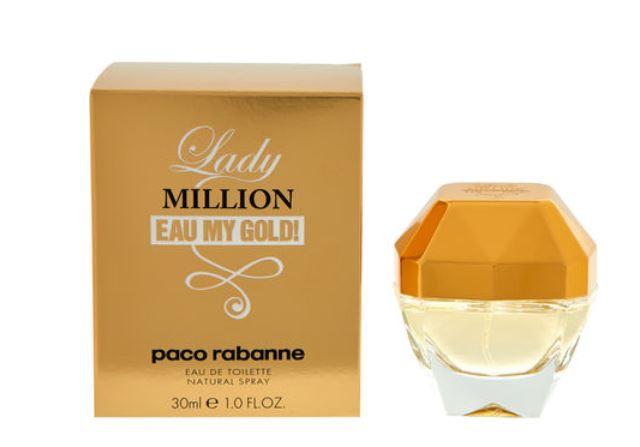 719bfbece67 PACO RABANNE Lady Million Eau My Gold EDT Spray 30ml - £19.99 at TK Maxx
