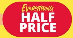 MandM Direct EVERYTHING half price or less sale