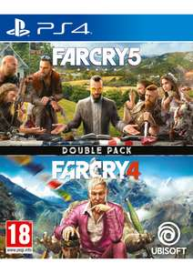 Far Cry 4 + Far Cry 5 Double Pack (PS4) £19.99 Delivered @ SimplyGames