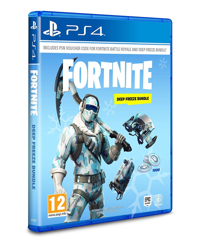 Fortnite Deep Freeze Bundle - PS4 Sealed - £2.99 Instore HMV Newcastle