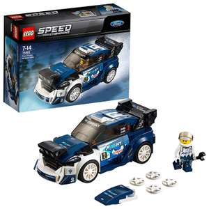 LEGO 75885 Speed Champions Ford Fiesta M-Sport WRC now £7.97 with voucher (Prime) / £12.46 (non Prime) at Amazon